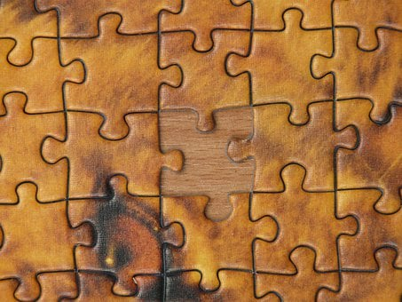 Puzzle, Puzzle Piece, Memory Cards Covered With