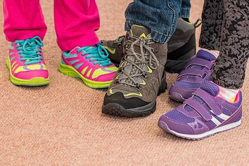 Children's Shoes, Footwear, Trainers, Walking, Shoes