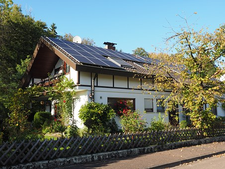 Home, House Roof, Solar Cells, Solar System