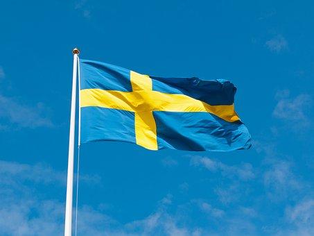 Sweden, Flag, Swedish Flag, Himmel