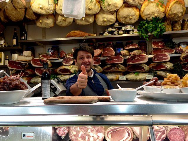 Thumbs Up, Italia, Deli, Cheese, Meat, European, Market