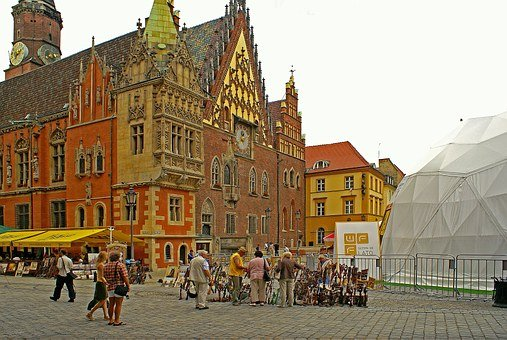 Town Hall, Wrocław, The City Centre, Lower Silesia