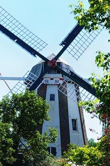 Windmill, Pinwheel, Mill, Windräder, Old, Nostalgia