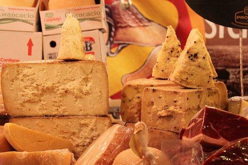 Cheese, Dairy, Food, Market, Yellow, Healthy, Organic