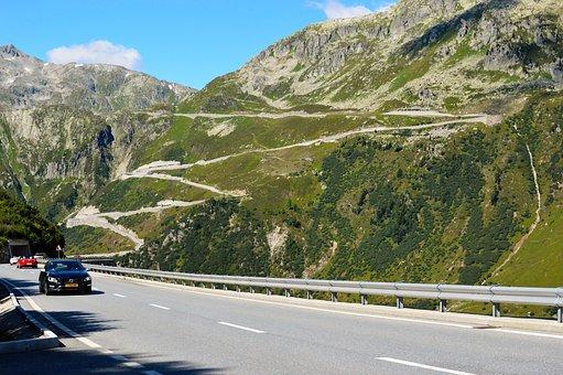 Furka Pass, Pass, Alps, Travel, Landscape, Alpine