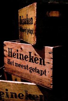 Amsterdam, Beer, Beer Box, Wood, Alcoholic Beverage