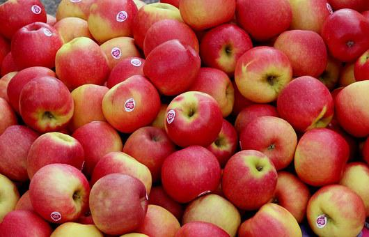 Apple, Apple Crate, Farmers Local Market, Red, Fruit