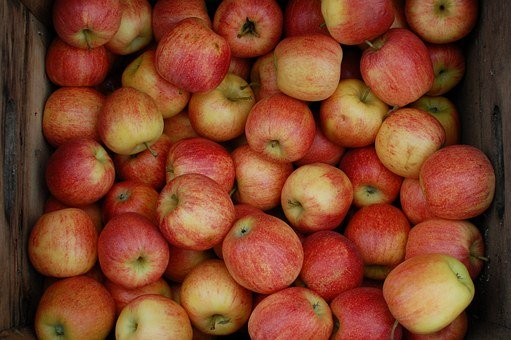 Apples, Crate, Orchard, Fruit, Brown Apple