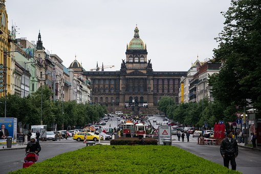 Prague, Building, Wenceslas Square