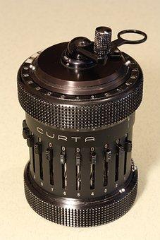 Curta, Mechanical, Calculator, Type Ii, Accurate