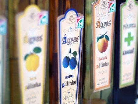 Alcohol, Drink, Bottle, Beverage, Brandy, Palinka