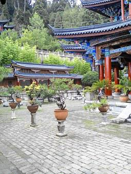 Chinese-style Gardens, Garden, China Wind