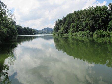 Gübsensee, St Gallen, Lake, Nature, Landscape, Reflect