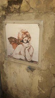 Florence, Guerrilla-art, Artists, Baldwin, Angel