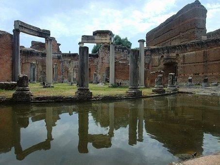 Tivoli, Italy, Old, Ancient, Historical, Landmark