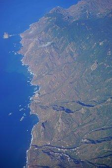 Tenerife, Aerial View, Anaga Mountains, Island