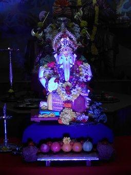 Kesarivada, Pune, India, Ganpati, Ganesh, Festival