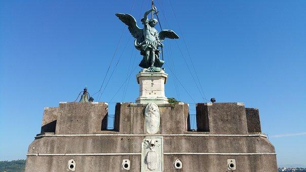 Castel, Sant'angelo, Castle, Angelo, Landmark, Monument