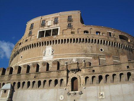 Monument, Castle, Castel Sant'angelo, Rome, Tourism