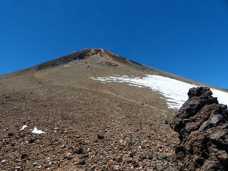 Teide, Mountain, Summit, Volcano, Tenerife