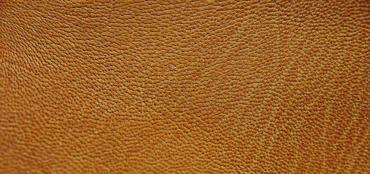 Leather, Orange, Texture, Structure, Background