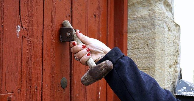 Passepartout, Call, Door, Old, Old Door, Portal