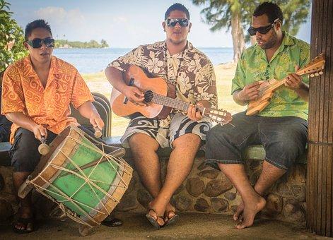 Polynesian, Entertainment, Music, Young, Person