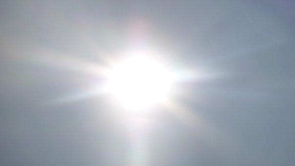 Sun, Sky, Rays, Heat, Summer, Hitzefrei, Radiation