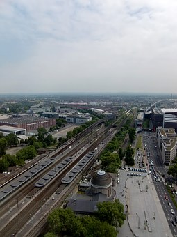 Cologne, Traffic, Jam, Autos, City, Road, Lanxess Arena