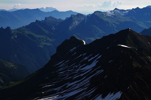Swiss, Swiss Alps, Switzerland, Schilthorn, Mountains