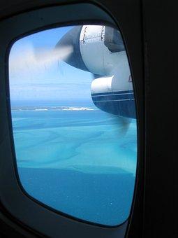 Flying, Bazaruto, Island, Porthole, Scuttle