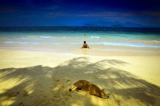 Shadow Parker, Thailand, South Sea, Beautiful Beach