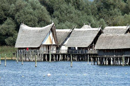 Stilt Houses, Lake Constance, Lake Dwellings