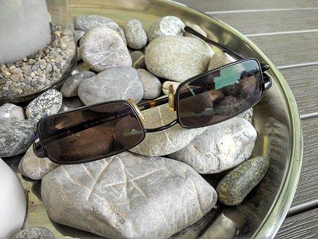 Sunglasses, Sun Protection, Uv Filter, Stones