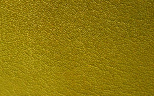 Leather, Yellow, Greenish, Texture, Structure