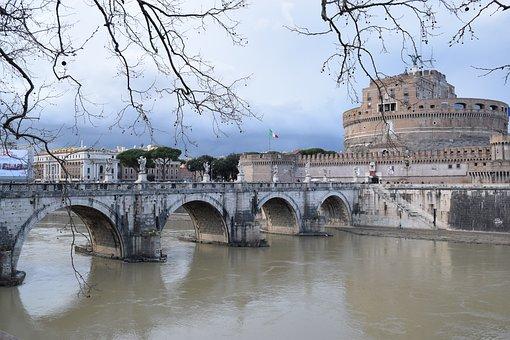 Castel Sant'angelo, Rome, Tiber