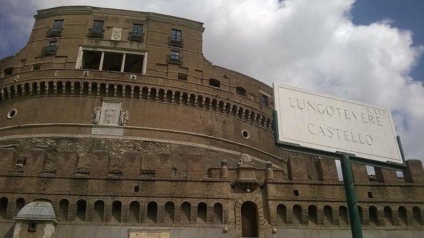 Castel Sant'angelo, Rome, Tiber, Tiber Castle, Vatican