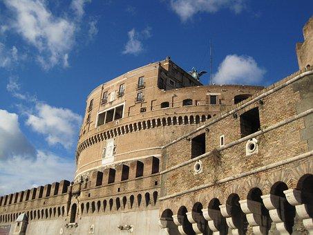 Monument, Castle, Castel Sant'angelo, Tourism, Holiday