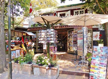 Kiosk, Memory, Pavilion, Gifts, Postcards, Tourism