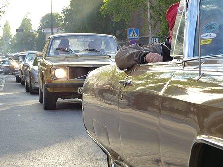 Cars, Wheels, Umeå, Motor, Classic Car, Car