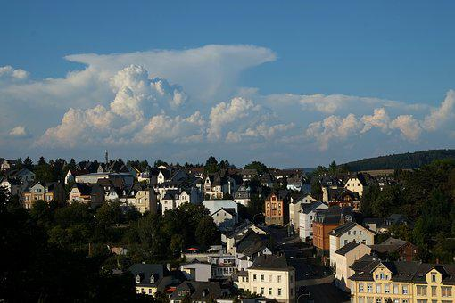 Weilburg At Lahn, City, Houses, Building, Roofs