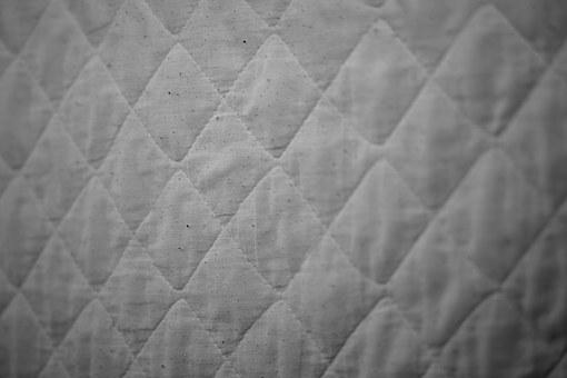Bedspread, Backing, Checkered, Pattern, Fabric