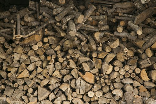Wood, Firewood, Brown, Cut The Wood, A Pile Of Wood
