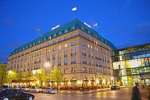 Adlon, Hotel, Berlin, Building, Places Of Interest