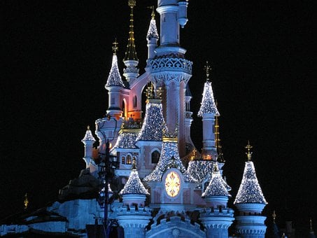 Disney Castle, Disneyland Paris, Magic Castle
