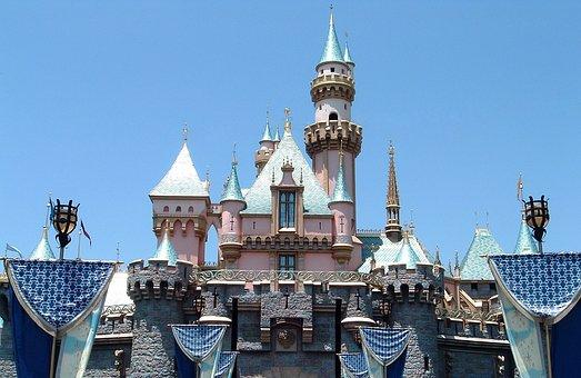 Castle Of The Sleeping Beauty, Disneyland