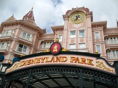 Disneyland Park, Amusement, Tourism, Entrance, France