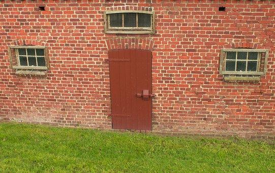 Window, Facade, Wall, Door, Barn, Building, Masonry