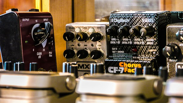 Pedals, Guitars, Electrical