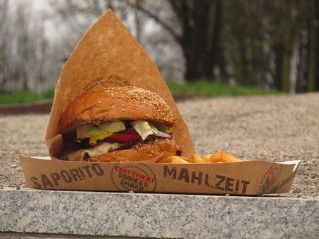 Hamburger, Burger, Fast Food, Streetv Food, Street Food